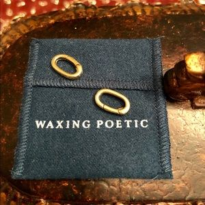 (2) Waxing Poetic Clips for Charms in Brass